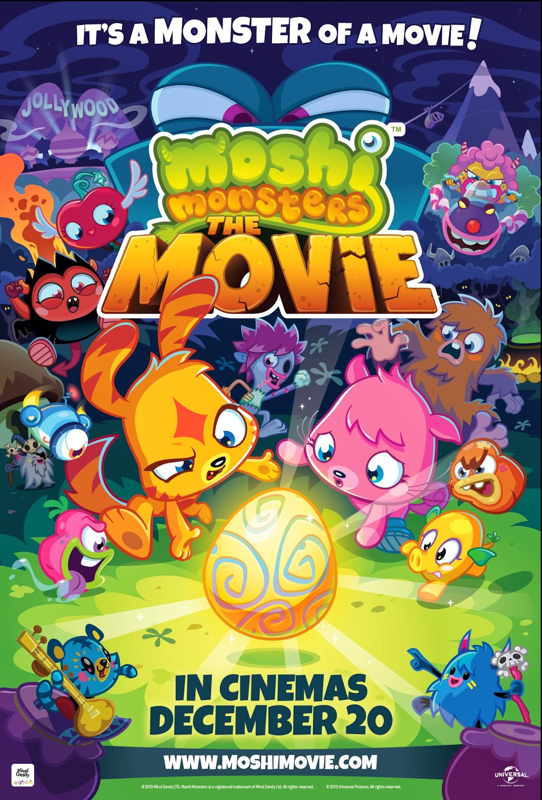 Moshi Monsters The Movie Poster