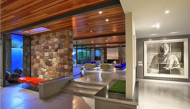 Fotos de la casa que adquirió Leonardo DiCaprio en Palm Springs 4