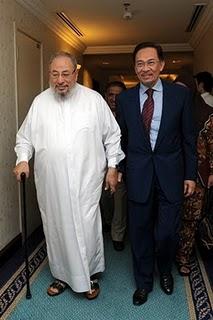 Yusuf al-Qaradhawi dan Anwar Ibrahim