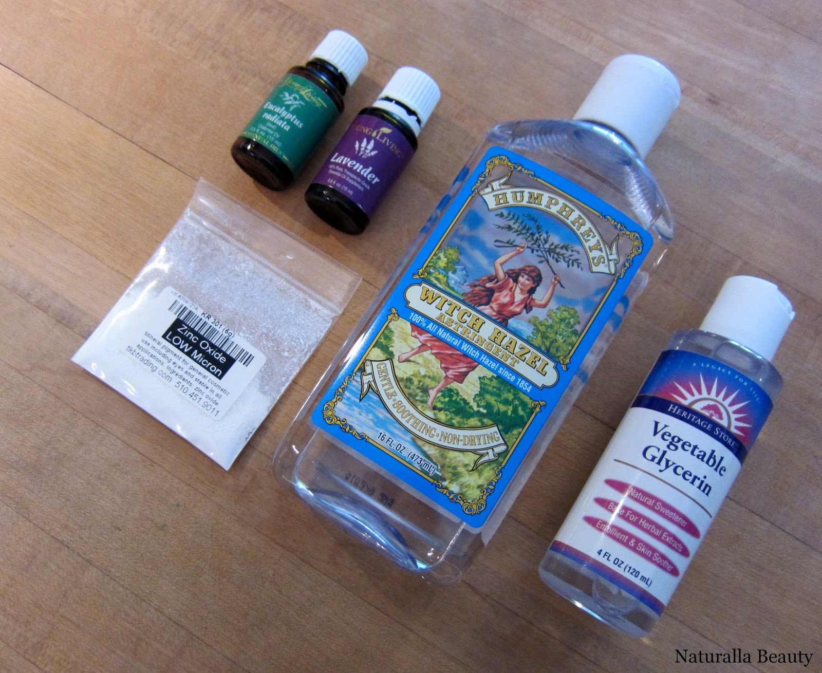 witch hazel aftershave