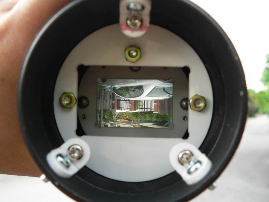 Superior condenser lens and 3 micron ground glass
