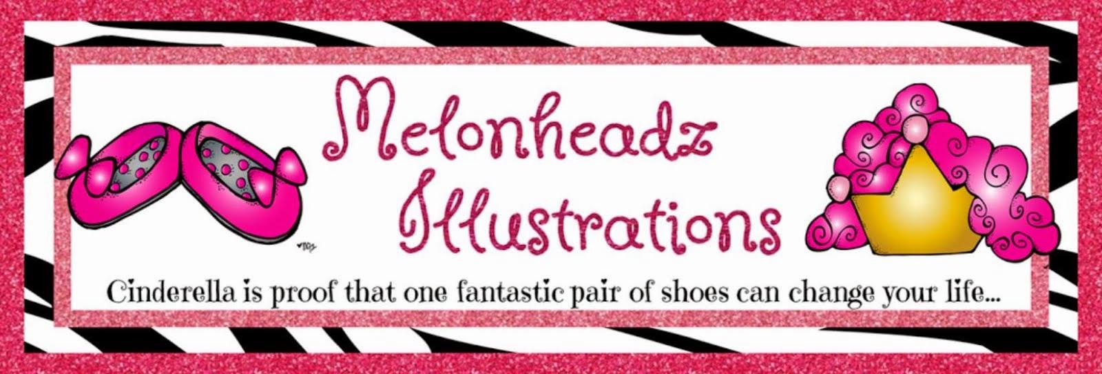 Melonheadz Doodles