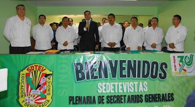Plenaria de Secretarios Generales