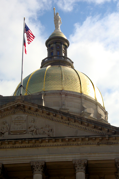 "Georgia Capitol Building, ""The Gold Dome"""