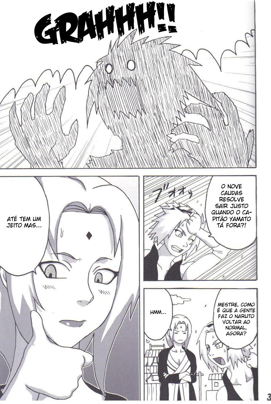 Tsunade No Inchiryou Naruto Hentai Manga Dublado Br