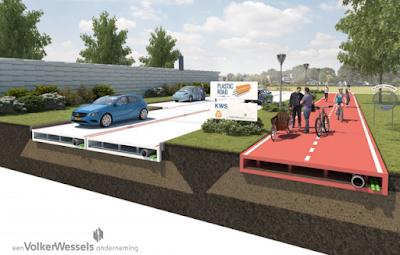 Plastic Road Concept Drawing
