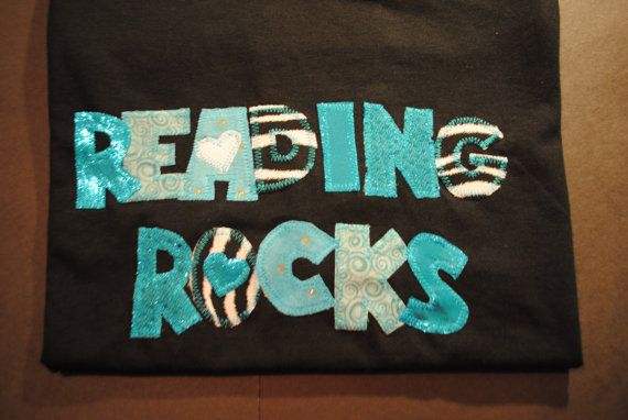 So Last But Not Least, Let Me Introduce You To Sewing Sassy Who Designs  T Shirts Just For Book Lovers Like You And Am. Check Out Her Awesome  Reading Rocks ...
