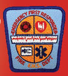 Crockery Township Rescue patch