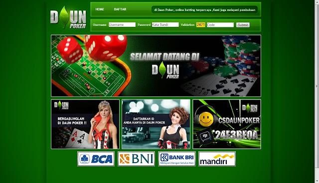 daftar judi poker online terpercaya daunpoker