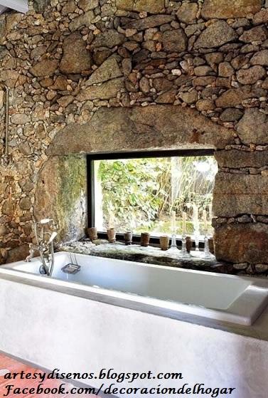 Decoracion De Baño Con Piedras:PISOS DE PIEDRA PARA BAÑOS : Decoración del Hogar, Diseño de
