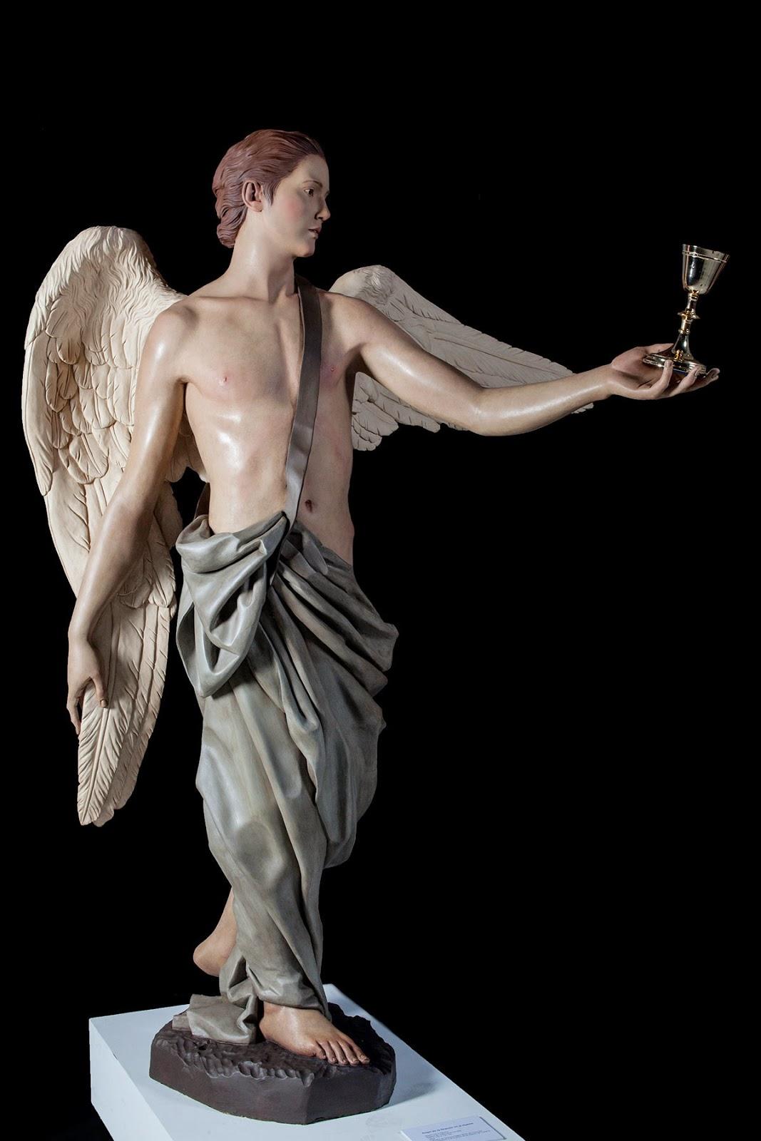 Ángel Semana Santa Tobarra escultura 2