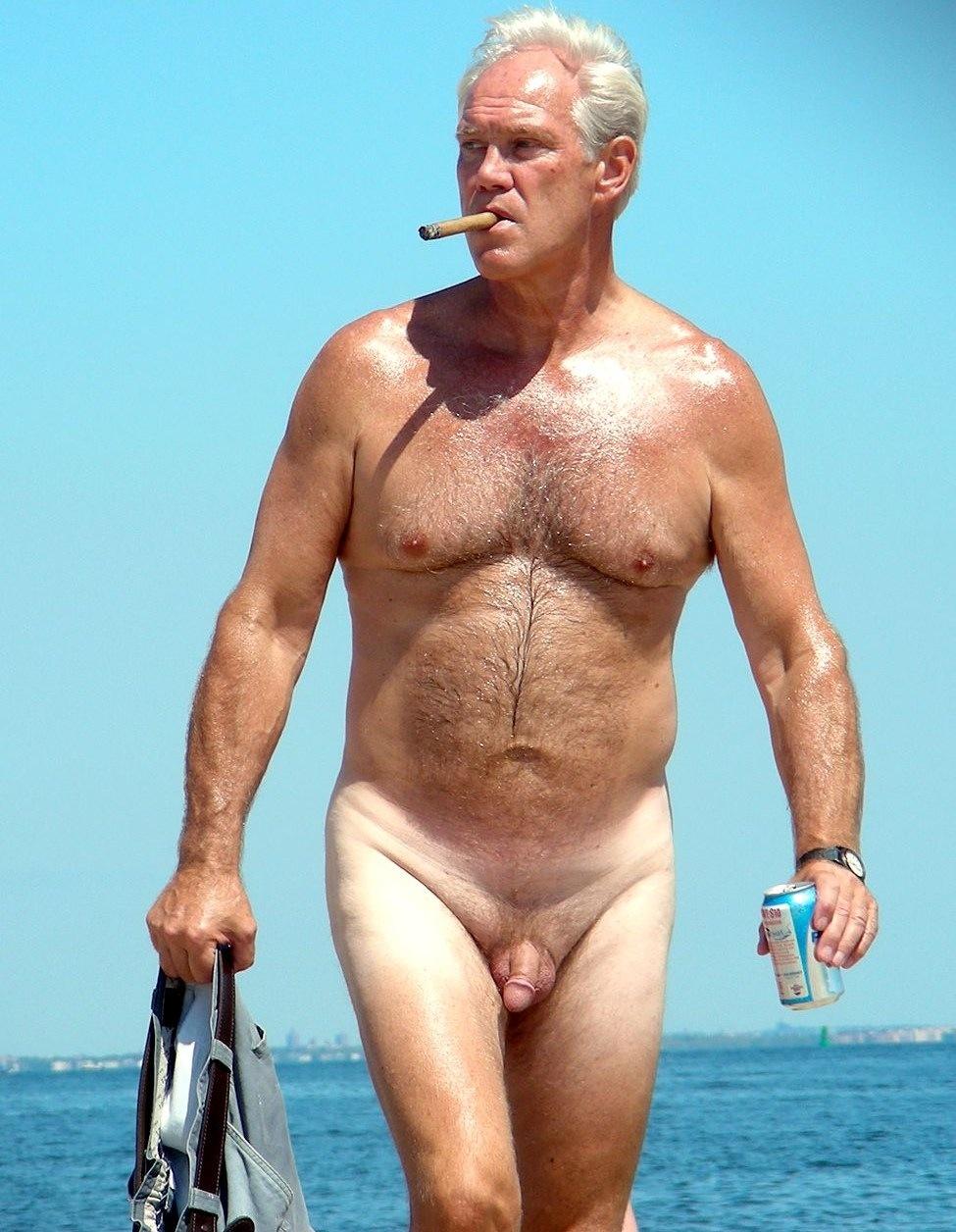 Silver Daddies Naked   Beach Daddies