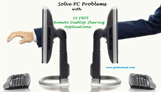 Remote Desktop Sharing applications for Windows PC