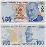 ماهو شكل العملة الورقية في تركيا ؟
