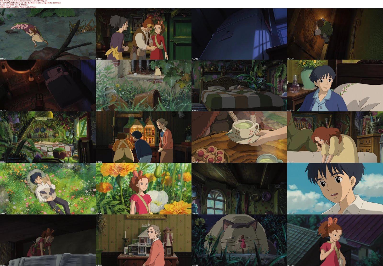 Arrietty y el mundo de los diminutos [dvdrip][spanish]