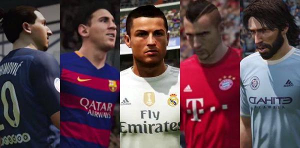 Ibra, Messi, CR7, Vidal e Pirlo são as estrelas do novo trailer de FIFA 16
