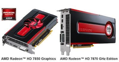 AMD Merilis Kartu Grafis Radeon HD 7800 Series