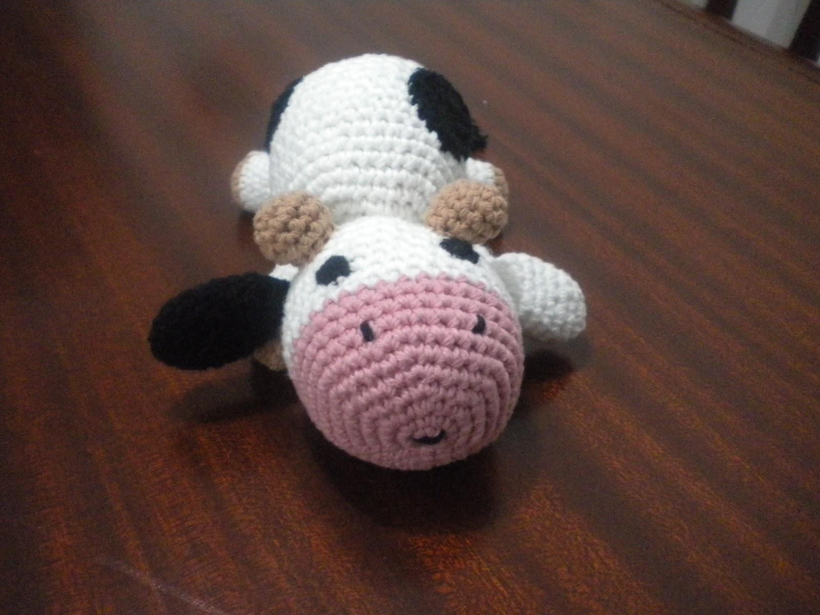 Tutorial Amigurumi Vaca : AnGeLeS TeJiDoS: Amigurumi ------- Vaca