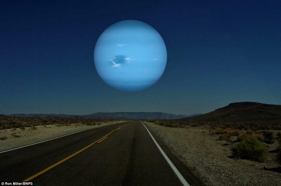 MENAKJUBKAN – 7 Foto Ketika 7 Planet Lain Mendekati Bumi
