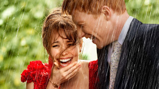 About Time Couple Laughing Movie Wallpaper
