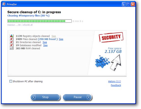 privazer | privacy tool dan cleaner gratis yang handal
