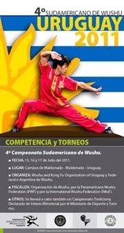 4° Campeonato Sulamericano de wushu 2011