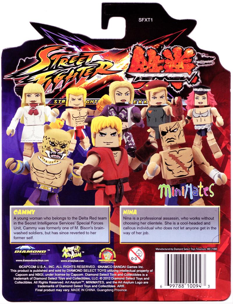 Street Fighter Tekken Figures