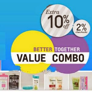 Shopclues: Buy Beauty and Personal Care Value Combos upto 50% off + 14% off + 5% off + 2% Cashback