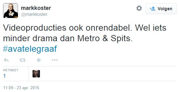 Leo Epskam, CFO #TMG, velt keihard oordeel over @Geenstijl: ONRENDABEL!