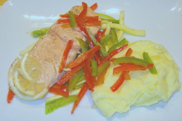 The food saumon en papillote - Saumon en papillote ...