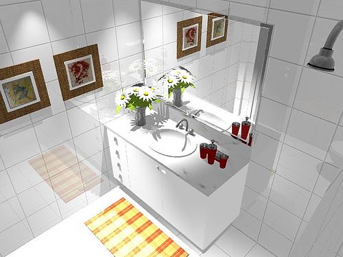 Ambientes & Ideias Banheiros -> Armario Banheiro Planejado Rj
