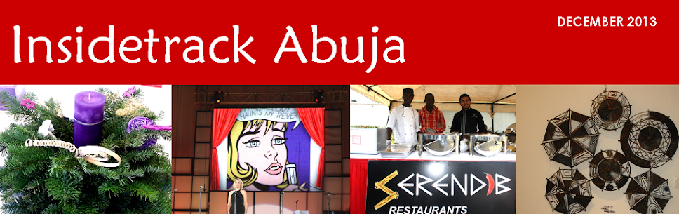 INSIDE TRACK ABUJA - Hotels, restaurants, real estate, vacancies in Nigeria