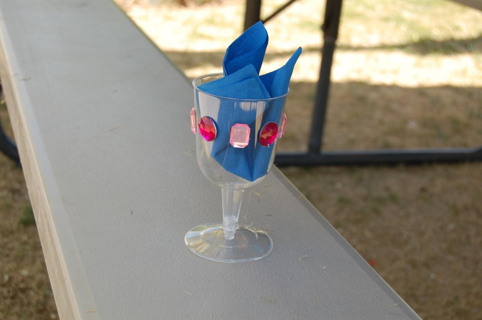 Reid girls handmade june 2012 - Plastic medieval goblets ...