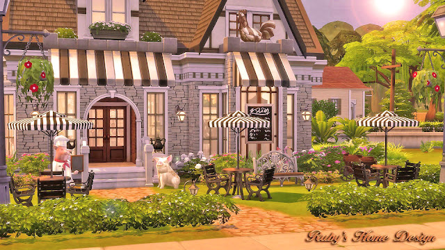 Sims 4 Traditional Small House
