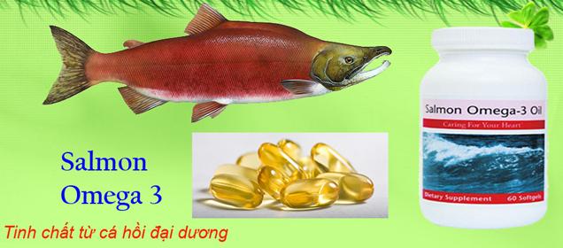 Viên dầu cá Hồi Salmon Omega-3 Oil Unicity