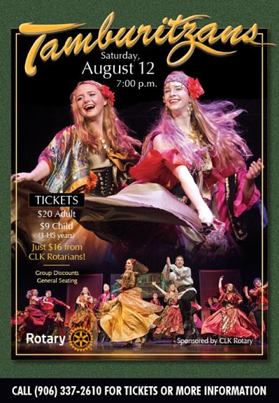 Tamburitzans at Calumet Theatre Aug. 12