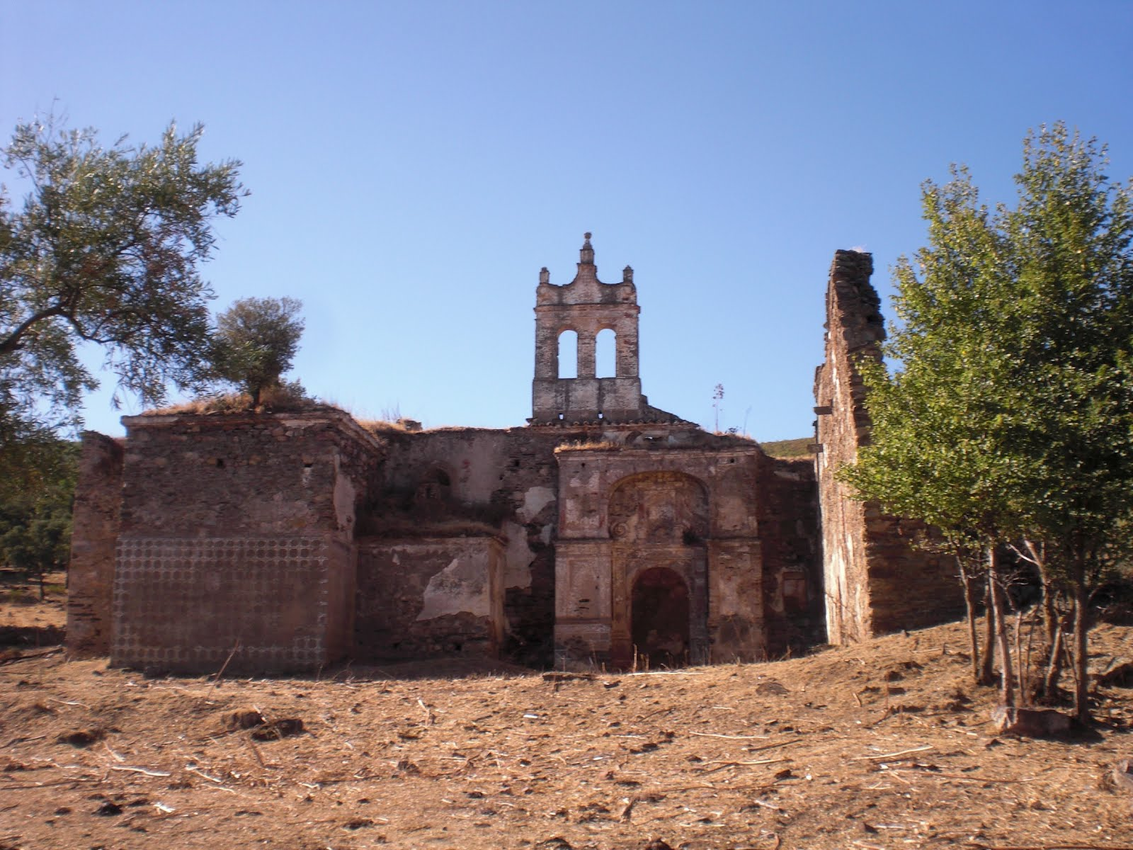 Convento de Nuestra Señora de los Ángeles, o de la Moheda, en las cercanías de Grimaldo