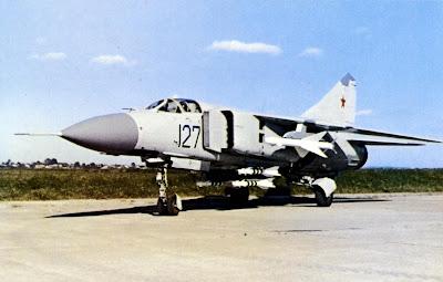 Первый прототип МиГ 23 МЛ