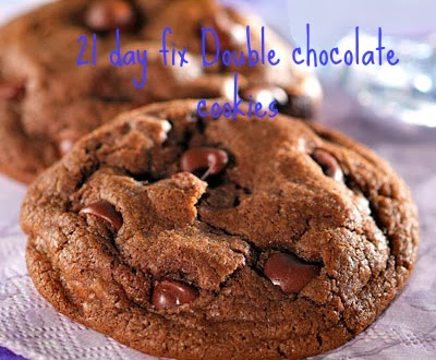 21 day fix double chocolate cookies