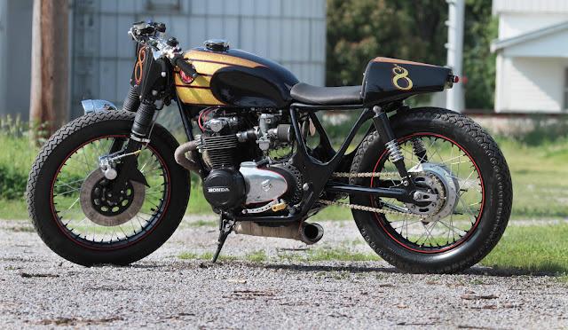 Honda CB500 Cafe Racer | By M&M Customs | Custom Bikes | Honda Cafe Racer | Honda cafe racer Parts