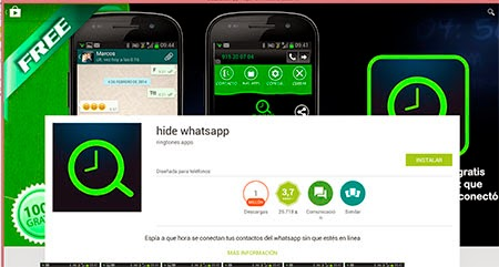 Hide Whatsapp Android