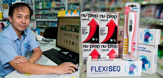 Caring Pharmacy e-commerce venture, and its top selling products