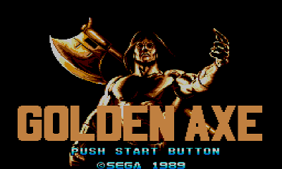 Golden Axe no Master System