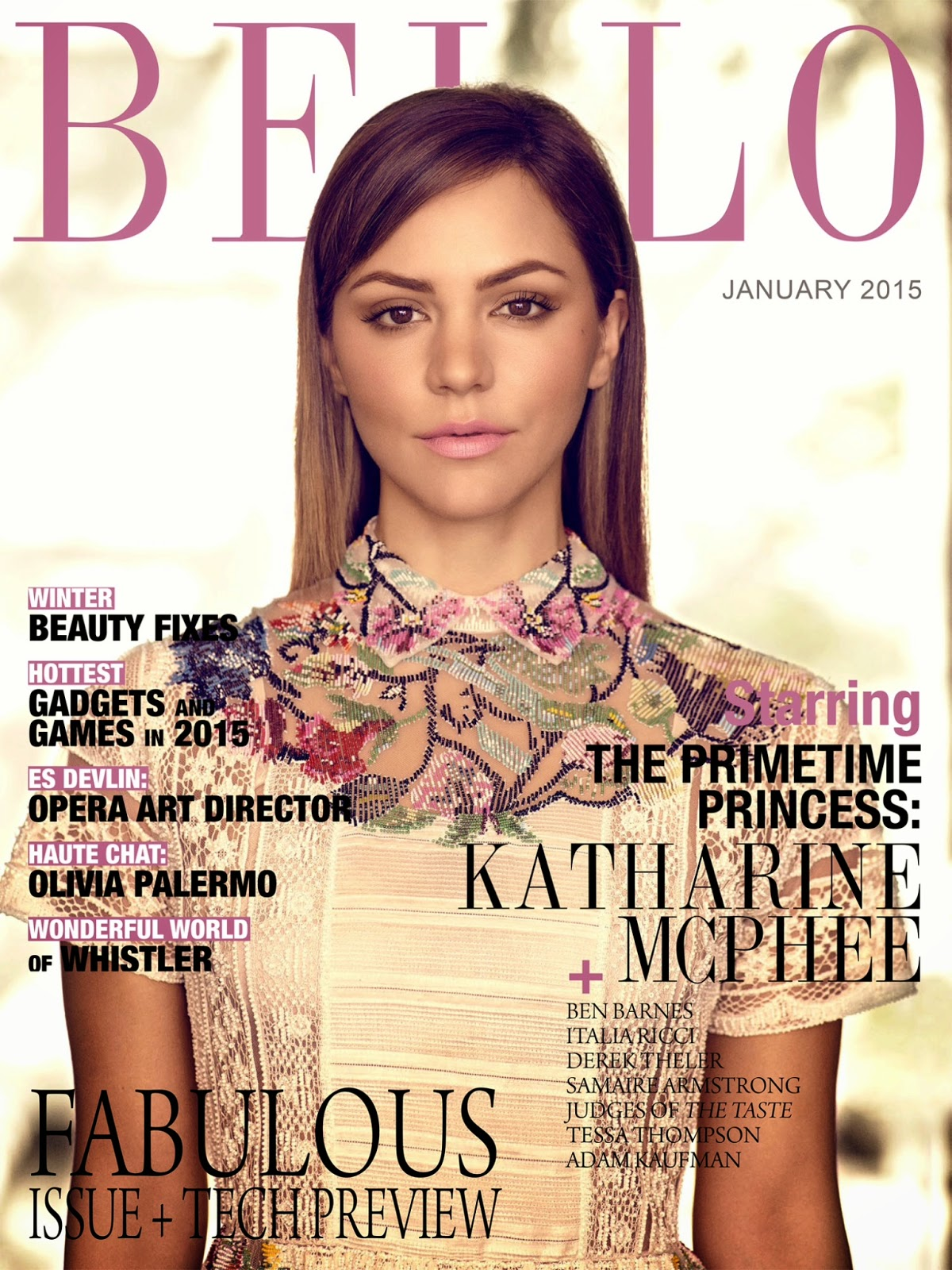 Katharine McPhee - Bello Magazine, January 2015