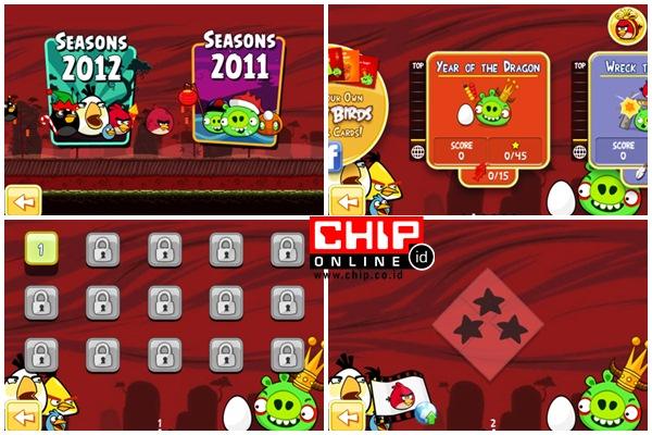 Bermain Game Angry Birds Via Google Chrome