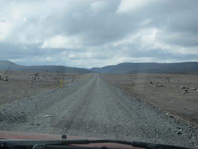 Desert in Iceland