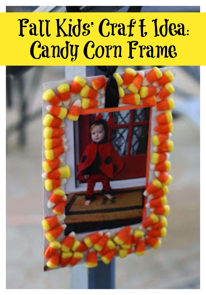 Candy Corn Frame II The Chirping Moms