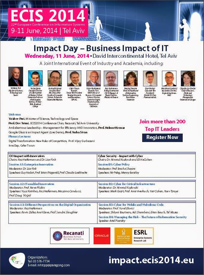 Calcalist ECIS Impact Day Ad