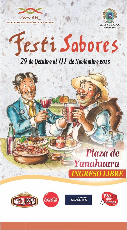 Festi Sabores Arequipa 2015 - 29 oct al 01 de nov