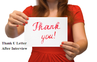 Free Interview Thank You Letter for HR Jobs interviews
